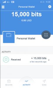 CoPay Bitcoin Wallet for Nokia Lumia